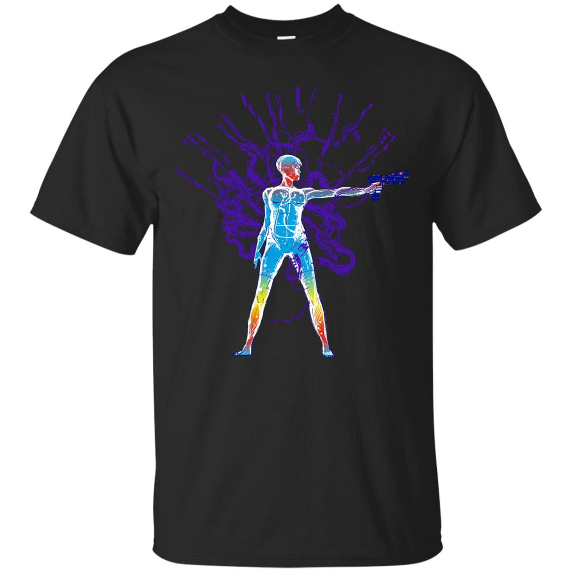 ghost in the machine t shirt