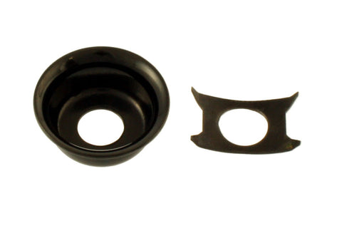AP-0275-003 Black Input Cup Jackplate for Telecaster®