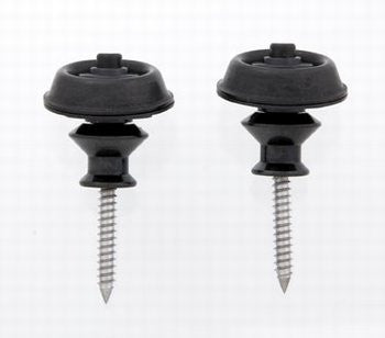 AP-6581-003 Dunlop® Black Strap Locks