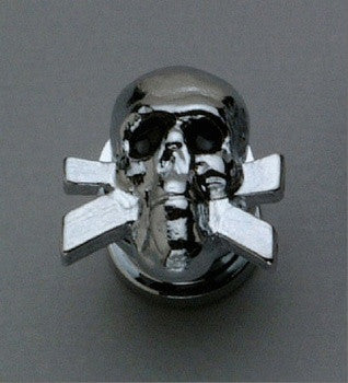 AP-6676-010 Skull Strap Buttons