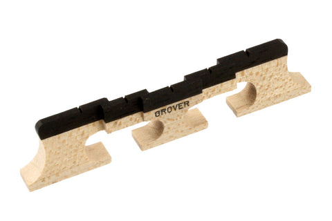 BJ-0507-0E0 5 String Grover Compensated Banjo Bridge 77