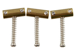 BP-2328-008 Tilted Brass Saddles