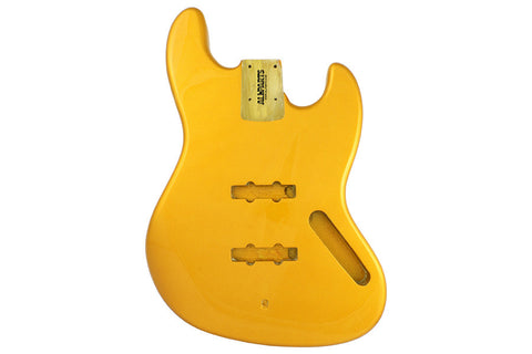 JBF-CAY Candy Apple Yellow Finished Replacement Body for Jazz Bass¬