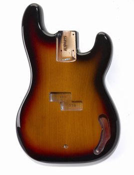PBF-3SB Sunburst Finished Replacement Body for Precision Bass¬
