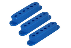 PC-0406-027 Set of 3 Blue Pickup Covers for Stratocaster¬