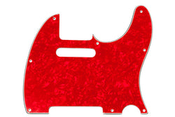 PG-0562-056 Red Pearloid Pickguard for Telecaster¬