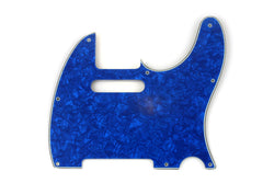 PG-0562-057 Blue Pearloid Pickguard for Telecaster¬