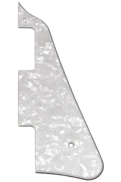 PG-0800-055 White Pearloid Pickguard for Gibson¬ Les Paul¬