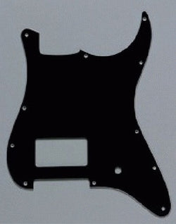 PG-0993-033 1 Humbucker Black Pickguard for Stratocaster¬