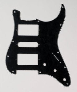 PG-0994-033 H-S-H Black Pickguard for Stratocaster¬