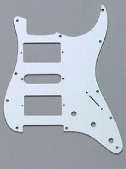 PG-0994-035 H-S-H White Pickguard for Stratocaster¬