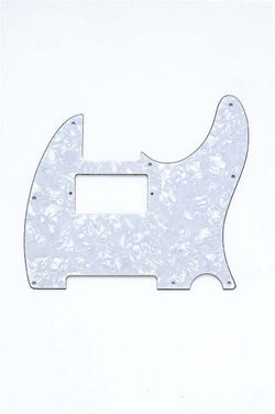 PG-9562-055 White Pearloid Humbucking Pickguard for Telecaster¬