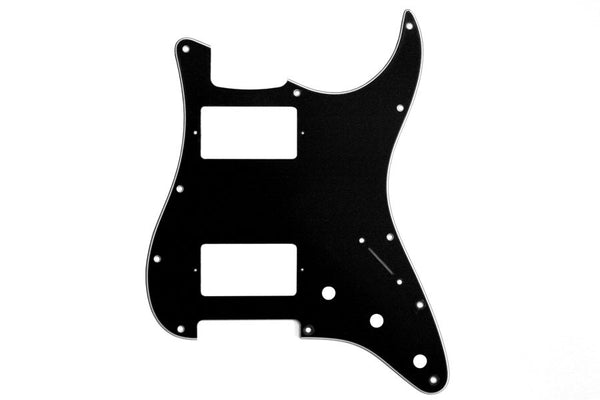 PG-9595-033 2 Humbucker Black Pickguard for Stratocaster¬