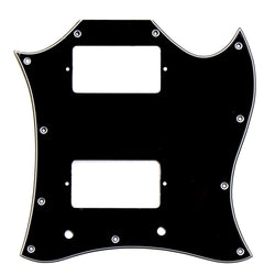 PG-9803-033 Large Black Pickguard for Gibson¬ SG¬