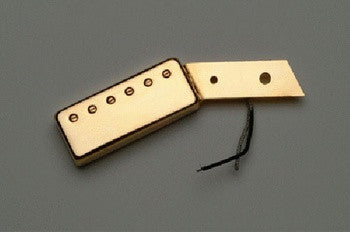 PU-6507-002 Mini Humbucking Pickup Pickguard Mount Gold