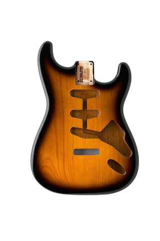 SBF-2SB Sunburst Finished Replacement Body for Stratocaster¬