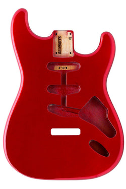 SBF-CAR Candy Apple Red Finished Replacement Body for Stratocaster¬