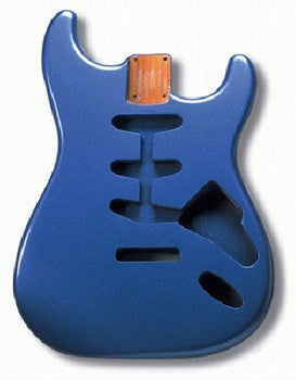 SBF-LPB Lake Placid Blue Finished Replacement Body for Stratocaster¬