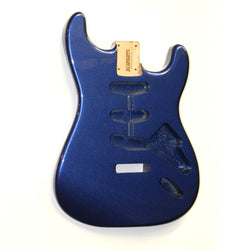 SBF-MB Metallic Blue Finished Replacement Body for Stratocaster¬