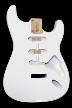 SBF-OW Olympic White Finished Replacement Body for Stratocaster¬