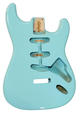 SBF-SB Sonic Blue Finished Replacement Body for Stratocaster¬