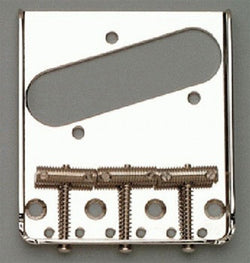 TB-0020-L01 Left Handed Nickel Vintage 3 Saddle Bridge for Telecaster¬