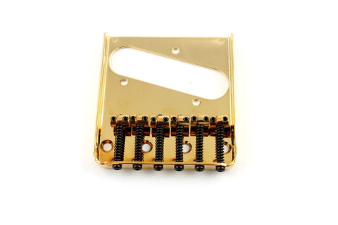TB-0033-002 Gold Vintage 6 Saddle Bridge for Telecaster¬