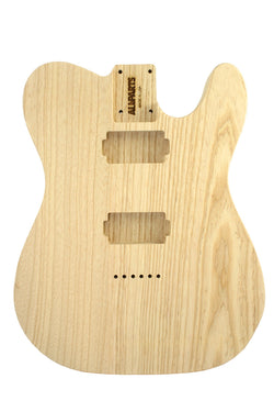 TBAO-C Contoured Ash Replacement Body for Telecaster¬