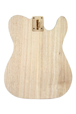 TBAO-NPO Non-Routed Ash Replacement Body for Telecaster¬