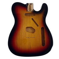 TBF-3SBB Sunburst Finished Replacement Body for Telecaster¬ With Binding