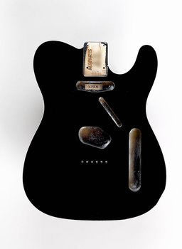 TBF-BKB Black Finished Replacement Body for Telecaster¬ With Binding