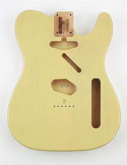 TBF-BLND Blonde Finished Replacement Body for Telecaster¬