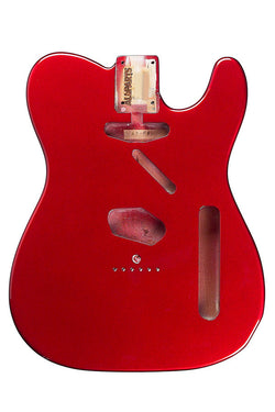 TBF-CAR Candy Apple Red Finished Replacement Body for Telecaster¬
