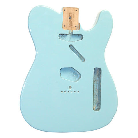 TBF-SB Sonic Blue Finished Replacement Body for Telecaster¬