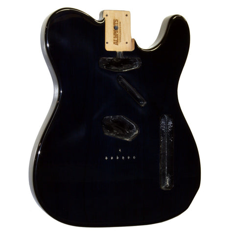 TBF-STMB See Through Midnight Blue Finished Replacement Body for Telecaster¬