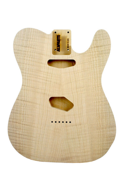 TBO-FM Flame Alder Replacement Body for Telecaster¬