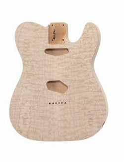 TBO-QM Quilted Alder Replacement Body for Telecaster¬