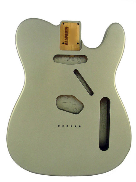 TBSF-PW Satin Pewter Finished Replacement Body for Telecaster¬