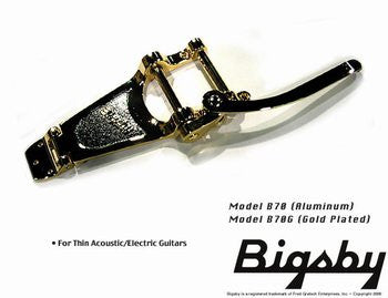 TP-3673-002 Bigsby¬ B70 Vibrato Tailpiece Gold