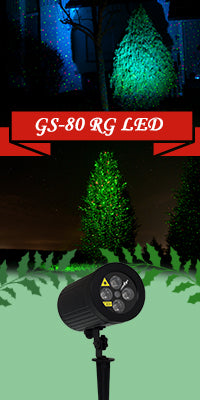 Garten Laser - GARDEN STAR MINI - Laserworld GS-80RG LED