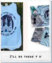 Load image into Gallery viewer, !A Ready To Ship: DOUBLE SIDED SERIES: Friends/Castle Tee + Tank