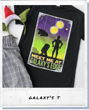 Load image into Gallery viewer, !!A Ready To Ship: POSTER SERIES: Galaxy's Edge Tee