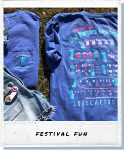 !A Ready To Ship: FESTIVAL SERIES: Draw Up The Perfect Festival Day Tee