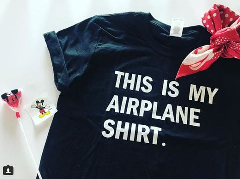 !A Ready To Ship: $15 SERIES: Airplane Tee