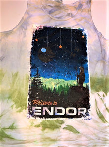 !!A Ready To Ship: POSTER SERIES: Endor (SOLID/TIE DYED T's + Tanks)!