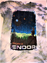 Load image into Gallery viewer, !!A Ready To Ship: POSTER SERIES: Endor (SOLID/TIE DYED T's + Tanks)!