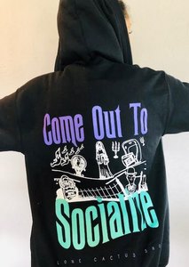 !!Halloween: Haunted Mansion Come Out To Socialize HOODIE (Ships Next Day)