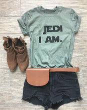 Load image into Gallery viewer, !A Ready To Ship: $15 SERIES: Jedi I Am Tee