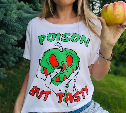 !A READY TO SHIP: STATEMENT SERIES Poison Apple (Tee OR Tank)