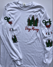Load image into Gallery viewer, !!CHRISTMAS: Very Merry SLEEVIE or Tee